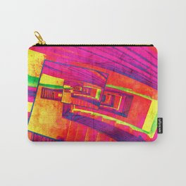Pop Art Stairwell Abstract Carry-All Pouch