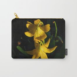 Glacier National Park, Glacier Lilies, Botanical Photography, Floral Print, Yellow Flowers Carry-All Pouch