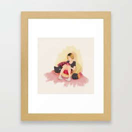 Playing~ Framed Art Print
