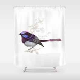 Forest Wren Bird Shower Curtain