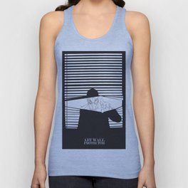 Man in the Mask -Watching your Walls Unisex Tank Top