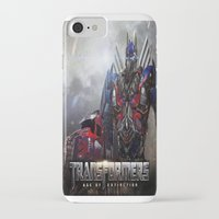 transformers iPhone & iPod Cases featuring transformers  , transformers  games, transformers  blanket, transformers  duvet cover by ira gora