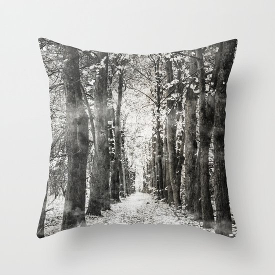 Infrared and symmetry Throw Pillow