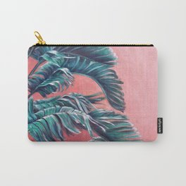 Palm Leaves_Oil on wood Carry-All Pouch