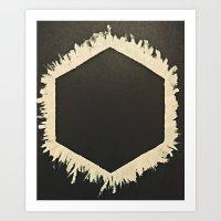 Cubic Elcipse Art Print