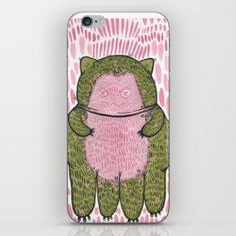 squidcat snorlax iPhone Skin
