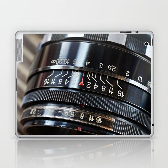 Retro Photo Slr Camera Lens Laptop & Ipad Skin by Ryzhov LSK8804915
