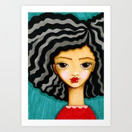 """frankie"" Art Print"