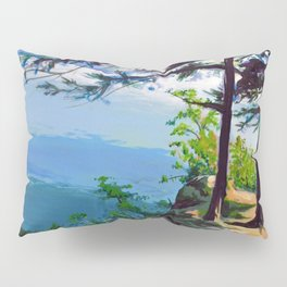 A View From a Cliff Pillow Sham