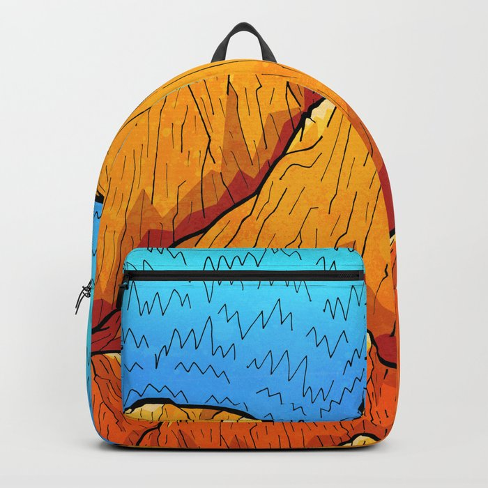 The sandy mountains Backpack