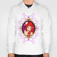 ariel Hoodies featuring ariel by Dan Solo Galleries