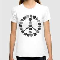 peace T-shirts featuring Peace by Elisabeth Fredriksson