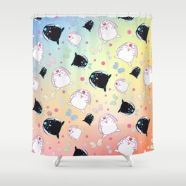 Mokona's Pattern Shower Curtain