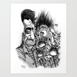 Billy & Bobby Buble Art Print