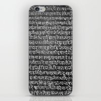 scripture iPhone & iPod Skins featuring Scripture by ArpanDholi
