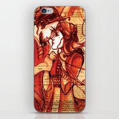 Taming of the Shrew  - Shakespeare Folio Illustration Art iPhone & iPod Skin