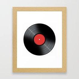 Music Record Framed Art Print