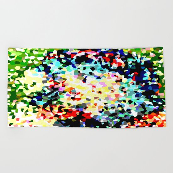 Crystallize 8 Beach Towel
