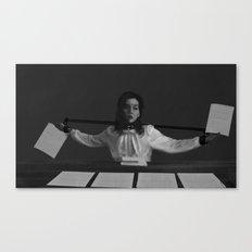 Secretary Canvas Print