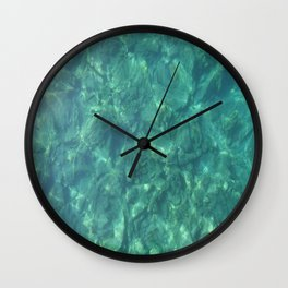 Ocean In Motion Wall Clock