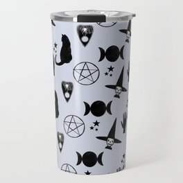 Creepy Cute Halloween Witch Design Travel Mug