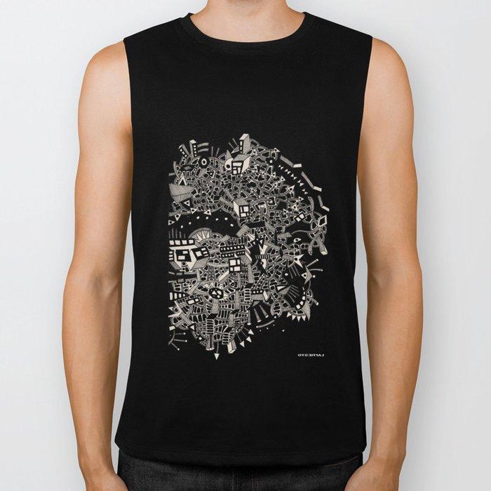 - city of april - Biker Tank