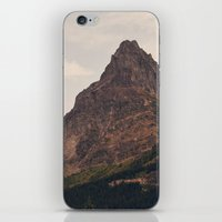 montana iPhone & iPod Skins featuring Montana Mountain by Kurt Rahn