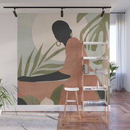 Tropical Girl 21 Wall Mural