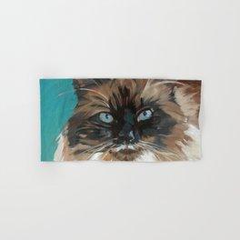 Tipper the Cat Portrait Hand & Bath Towel