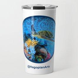 Eco Mural Project 1: Kauai Coral Reef Life Travel Mug