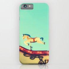 The hidden funfair horse iPhone 6s Slim Case