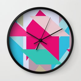 Abstracts colors Nr.3 Wall Clock