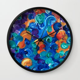 Moon Snails Back to School Wall Clock