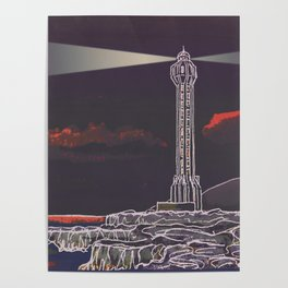 Lighthouse / Punta Lava La Palma Poster