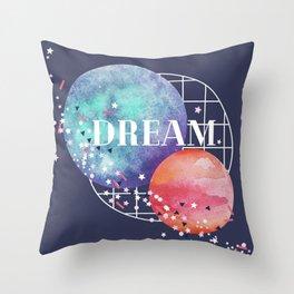 lunar dream Throw Pillow