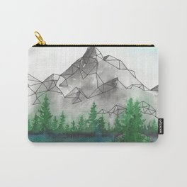 Geometric Mountain 2 Carry-All Pouch