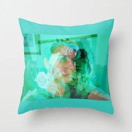 Rose Disposition Throw Pillow
