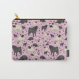 I Love Pugs! Carry-All Pouch