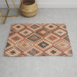 Arizona Southwestern Tribal Print Rug