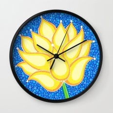 Dreamy Lotus Family Wall Clock