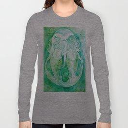 Goddess of Pisces - A Water Element Long Sleeve T-shirt