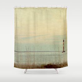 Morris Lighthouse Shower Curtain