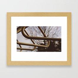 Monkey bars  Framed Art Print
