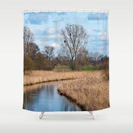 Rural Idyll Sound Shower Curtain