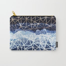 Tropical VIII - Beach Waves Pattern I Carry-All Pouch