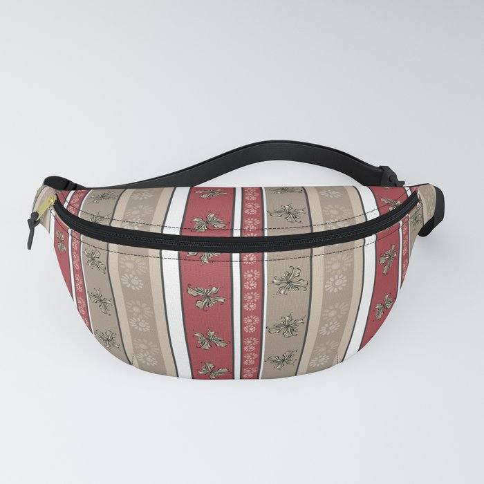 Creative striped pattern . Fanny Pack