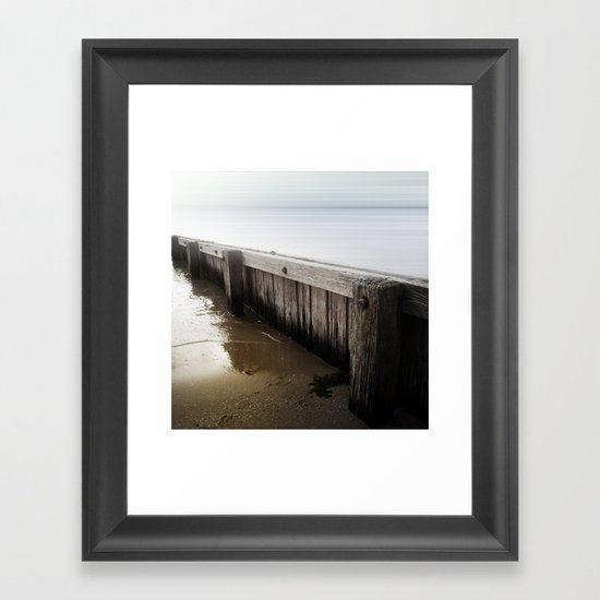 the break water 04 Framed Art Print