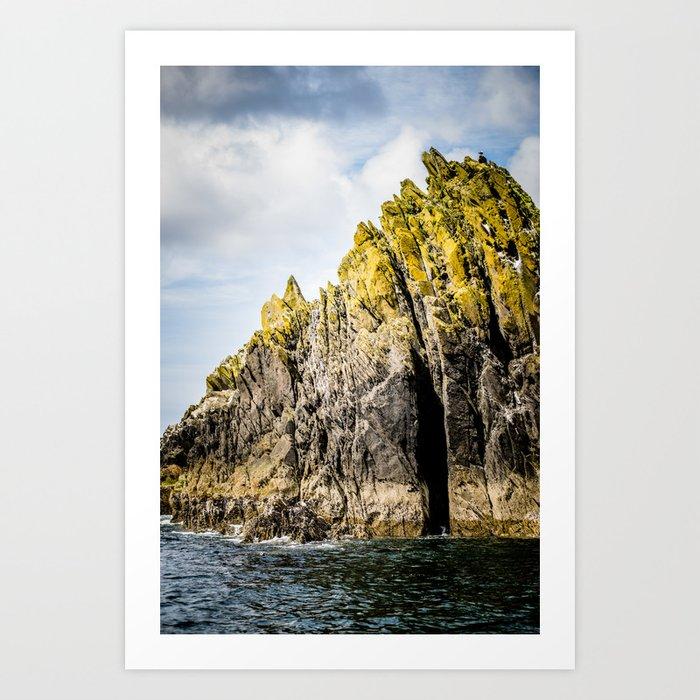 Atlantic Island, Ireland Art Print