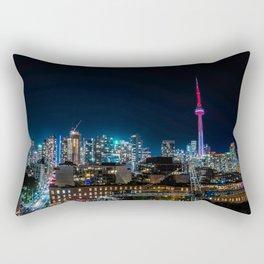 Vibrant Toronto Rectangular Pillow