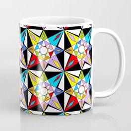 symetric patterns 81-mandala,geometric,rosace,harmony,star,symmetry Coffee Mug